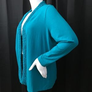 Coldwater Creek plus size topper